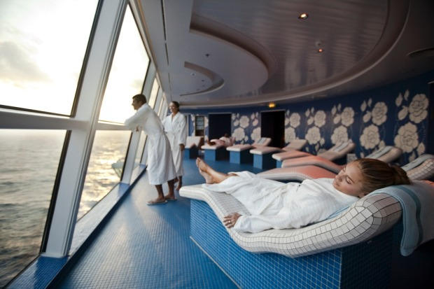 Health spa, Celebrity Solstice.