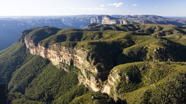 One of Australia's most popular getaway zones: The Blue Mountains, New South Wales,