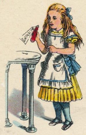 Surreal story: <i>Alice's Adventures in Wonderland </i>was printed in 1865, complete with illustrations by John Tenniel.