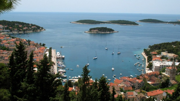 Party island: The closest you can come to recreating schoolies for slightly older people is in Hvar, Croatia.