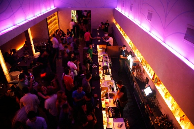 This city knows how to throw a party: Escape Bar in the Bibi area, Sao Paulo, Brazil.
