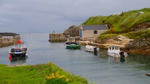 Themed tourism: Ballintoy Harbour in Northern Ireland is a familiar location for <i>Game of Thrones</i> fans.