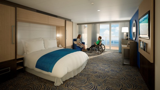 The Accessible Stateroom.
