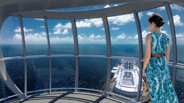 The NorthStar: This glass observation capsule rises more than 300 feet in the air to give passengers dramatic 360-degree ...
