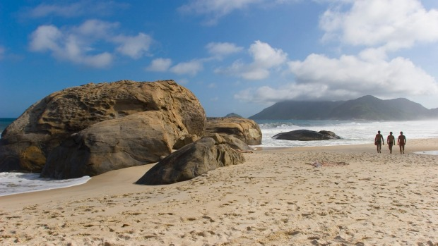 Abrico beach, an hour's drive west of Rio's centre, has been officially designated the Brazilian city's first nudist site.
