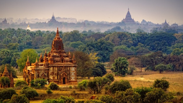 Mesmerising Myanmar: Ancient temples and an increasingly modern infrastructure is proving a drawcard for tourists.
