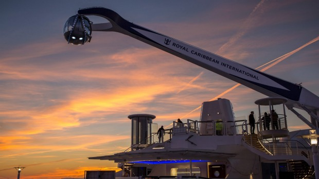 The North Star lifts passengers more than 90 metres above sea level.