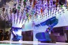 Robot bartenders on board Royal Caribbean's Quantum cruise ships.