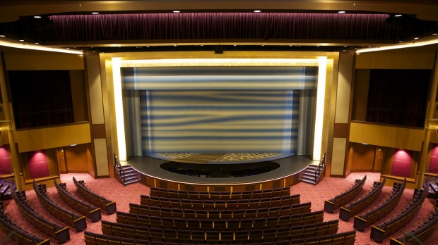 The Royal Theatre on Quantum of the Seas.