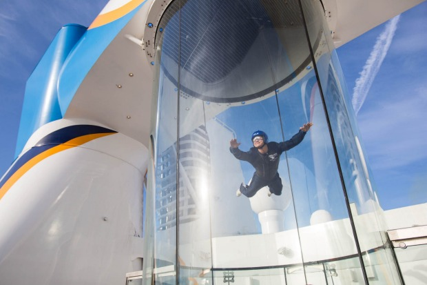 The Ripcord by iFLY: The skydiving simulator.