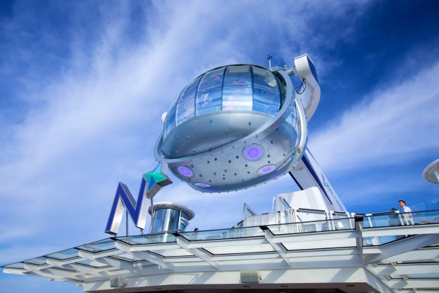 The North Star observation pod.