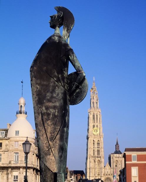 Get a culture fix in Antwerp, Belgium.