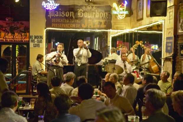 New Orleans and jazz go hand-in-hand.