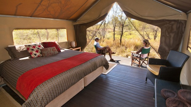 Kimberley complete: The civilised way to live under canvas.