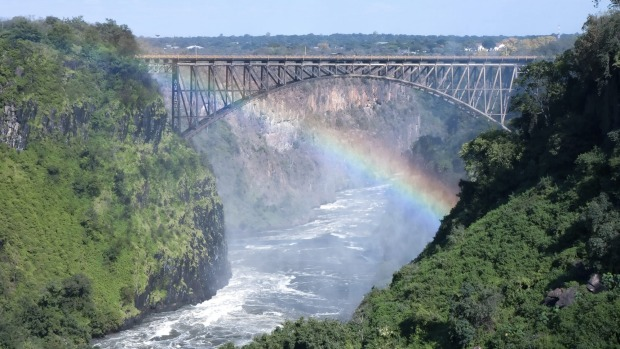 Victoria Falls Bridge, Zimbabwe/Zambia: Today, travellers can bungy jump off the bridge, or go white water rafting ...