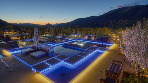 Bliss: No finer rooftop in all Aspen.