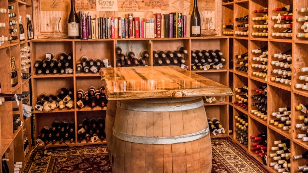 Grand scale: The wine cellar at the Little Nell's restaurant Element 47 is the best stocked in Colorado.
