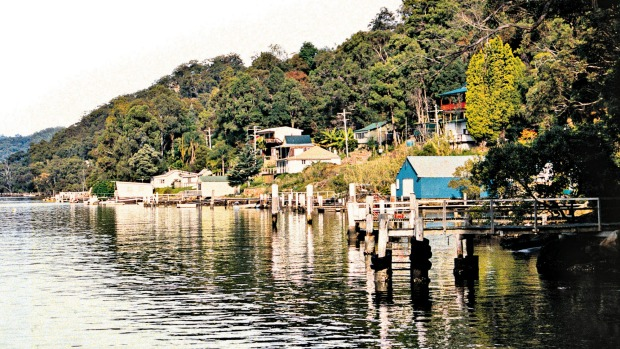 Bar Point, NSW: Get away from it all in the charming settlement on the Hawkesbury River.