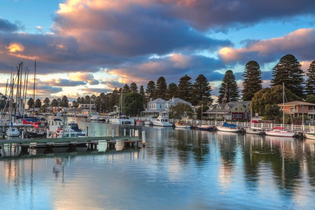 Port Fairy, Victoria: A jewel of the Great Ocean Road, with beaches, parks and fabulous eating.