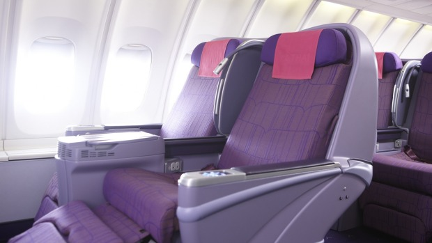 Thai Business Class nach Australien Boeing 747