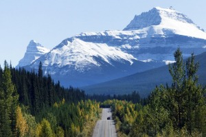 The Icefields Parkway, Canada.