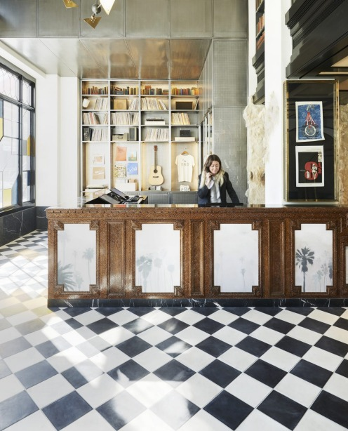 The Ace Hotel in Downtown Los Angeles.
