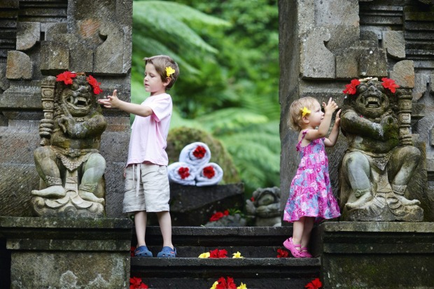 Bali is an ideal destination for a family holiday.