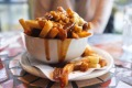 Canadian classic: The gorgeous mess of chips and gravy that is poutine.