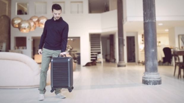 Sexy and lightweight: The Trunkster suitcase.