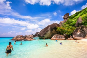 Archipelago: The waters of Similan offer some of the best diving and snorkelling in Asia.