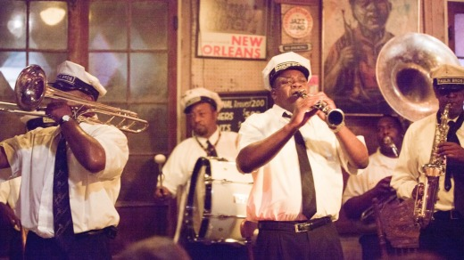 Big sound: The Paulin Brothers Brass Band plays at Preservation Hall in New Orleans, Louisiana.