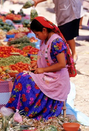 Experience the many flavours of Mexico: Tlacolula market in Oaxaca.