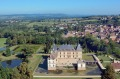 Magnificent: Cormatin Castle has a moat and splendid gardens.