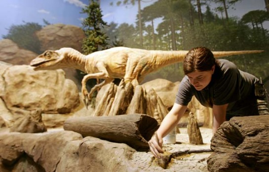 The Creation Museum, Kentucky. Here, true believers can learn about how the Earth was formed by the big man upstairs, ...