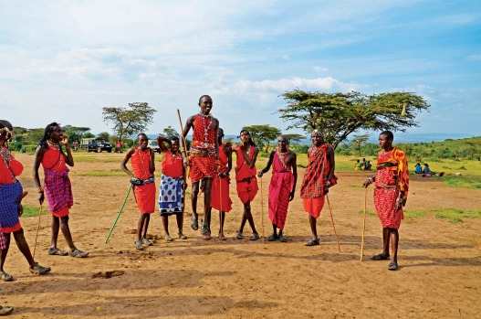 Meet the Masai. Enter the traditional houses, watch celebratory dances, and learn more about this warrior tribe, one of ...