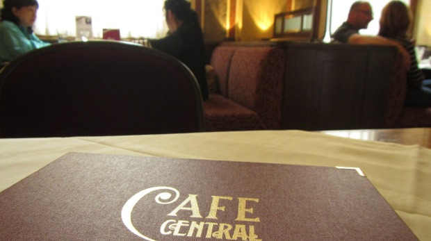 """Cafe Central: When you can hear the clip-clop of horseshoes on cobbles, from the """"fiaker"""" ✓sightseeing carriages, you ..."""