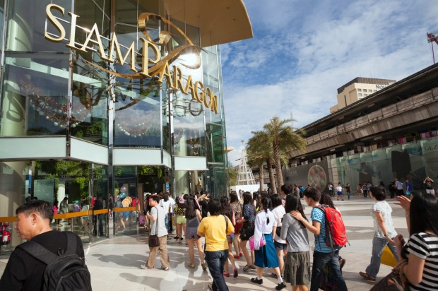 Siam Paragon in central Bangkok is a mere one part of their mega-huge shopping metropolis, and sixth most checked-in ...