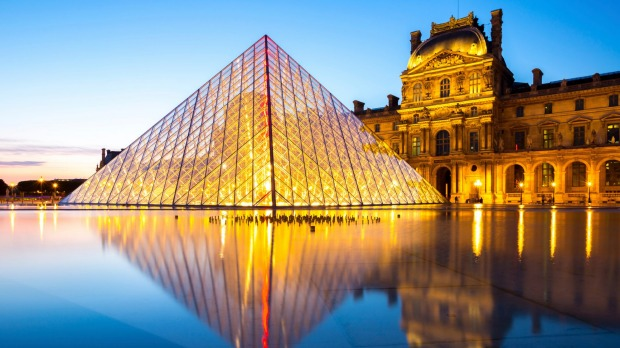 6. The Louvre, Paris: For 600 years, it had been a symbol of the wealth, power and decadence of the French monarchy, ...