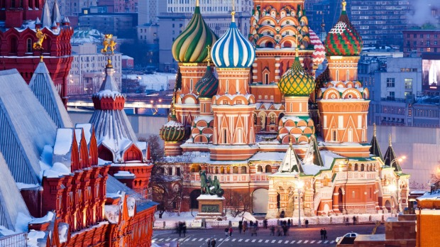 7. Red Square, Moscow, has never been red: it has actually been whitewashed in the past, and translates as 'beautiful ...