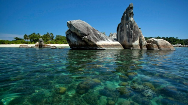 Belitung Island, View of Bird Island: One island in this massive archipelago is Belitung, off the east coast of Sumatra ...