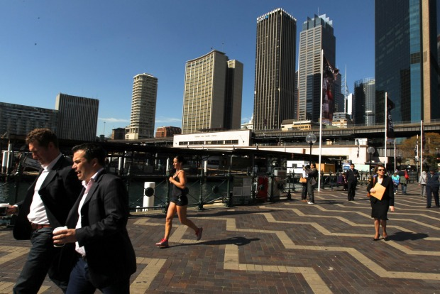 8: Circular Quay is the site of Sydney Cove, the site of initial landing of the First Fleet in Port Jackson on 26 ...
