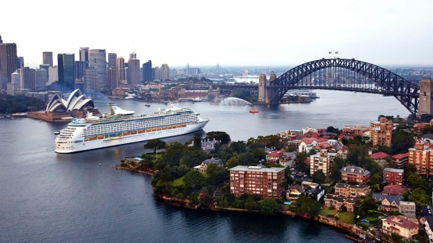 Voyager of the Seas arrives in Sydney after its $80 million makeover.