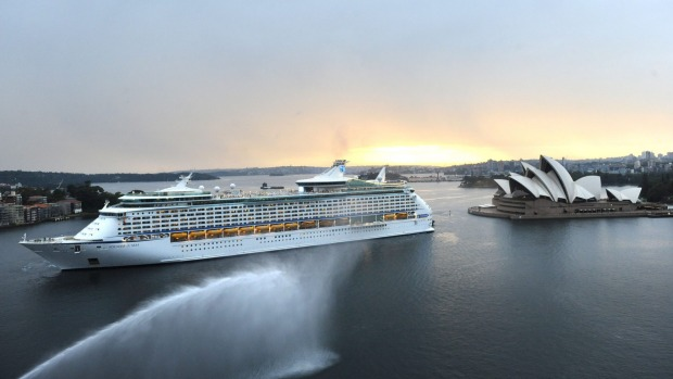 The Voyager of the Seas arrives in Sydney after its $80 million makeover.