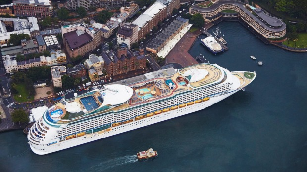 Voyager of the Seas arrives in Sydney after its $80 million refit.