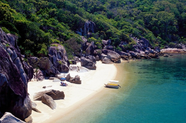 Bedarra Island, Queensland. For blow-the-budget romance, Bedarra Island is the place to beat.