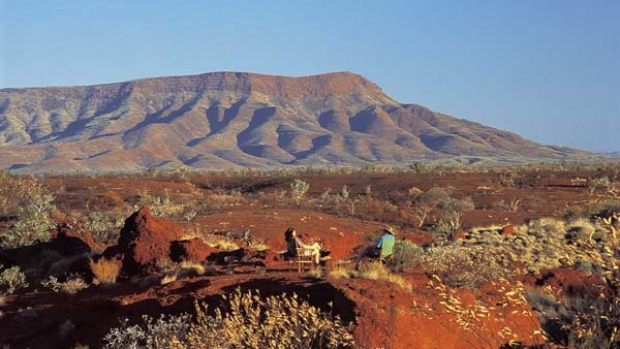 Are we there yet? ... hues of Hamersley Range.