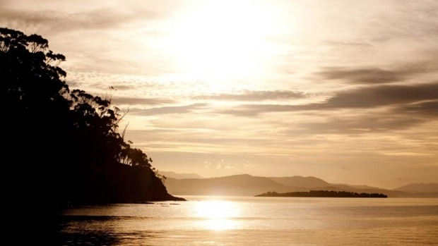 Satellite Island, Tasmania. Shh, don't tell the people flocking to nearby Bruny Island, but just around the corner - a ...