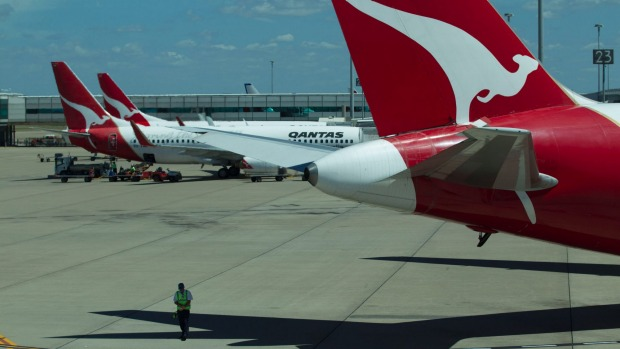 On schedule: Qantas is launching direct flights to Japan from Brisbane.
