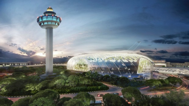 The new icon of Changi Airport: Jewel Changi Airport will enhance the overall passenger experience with its myriad range ...