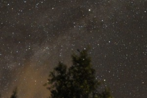 Into Darkness: The Milky Way over Africa